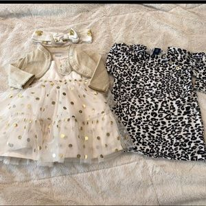 Bundle 3 mo girls dresses